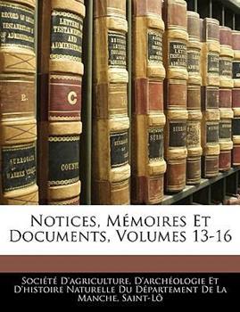 Paperback Notices, M?moires et Documents Book