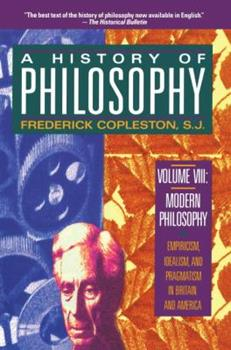 A History of Philosophy, Vol 8 0385016379 Book Cover