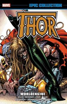 Thor Epic Collection Vol. 23: Worldengine - Book #396 of the Avengers 1963-1996 #278-285, Annual