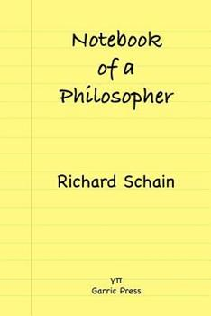 Paperback Notebook of a Philosopher Book