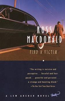 Find a Victim: A Lew Archer Novel 0006140475 Book Cover