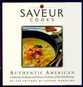 Saveur Cooks Authentic American: By the Editors of Saveur Magazine 0811821609 Book Cover
