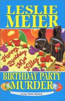 Hardcover Birthday Party Murder Book