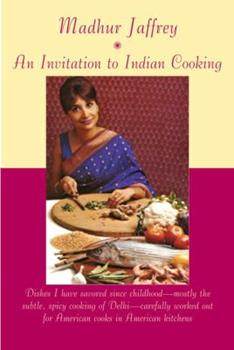 An Invitation to Indian Cooking 0394711912 Book Cover