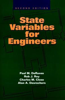 State Variables for Engineers 0894643339 Book Cover