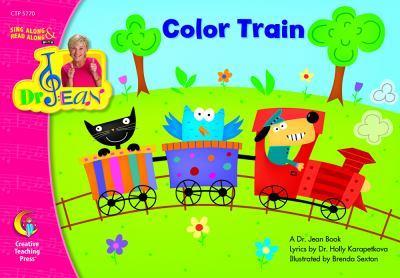 COLOR TRAIN - DR. JEAN LAP BOOK 1606890948 Book Cover