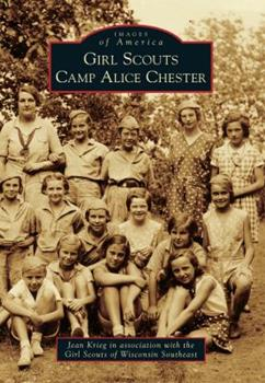 Paperback Girl Scouts Camp Alice Chester Book