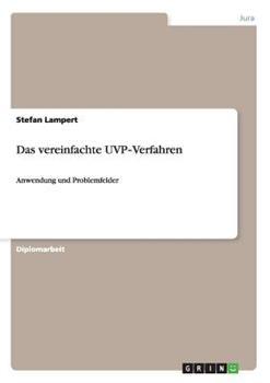 Paperback Das Vereinfachte Uvp-Verfahren [German] Book