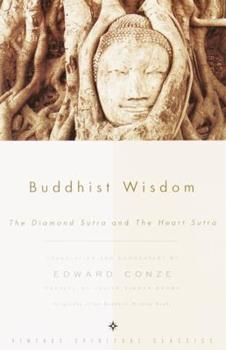 Buddhist Wisdom: The Diamond Sutra and The Heart Sutra 0375726004 Book Cover