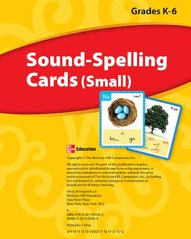 Paperback Wonders, Sound Spelling Cards (Small) Grades K-6 Book