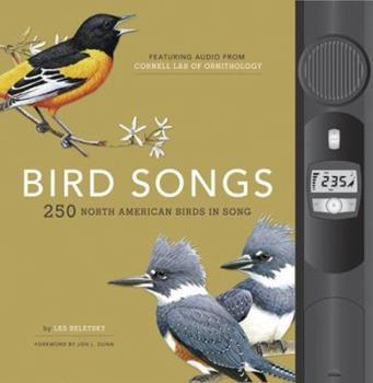 Hardcover Bird Songs: 250 North American Birds in Song Book