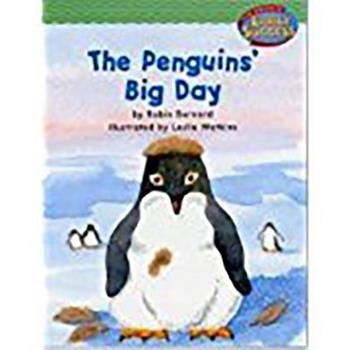 Paperback Houghton Mifflin Early Success: The Penguin's Big Day Book