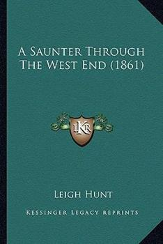 Paperback A Saunter Through the West End Book