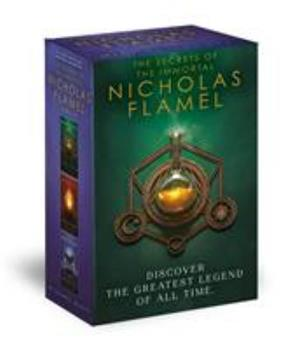 Nicholas Flamel's First Codex: The Alchemyst, The Magician, The Sorceress 0375873112 Book Cover