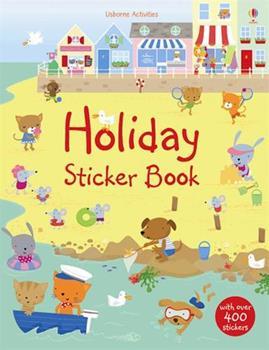 Paperback Holiday Sticker Book (Usborne Sticker Books) Book
