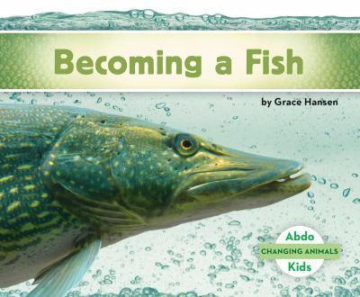 Library Binding Becoming a Fish Book