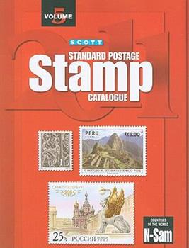 Countries of the World 2011: N-Sam (Scott Standard Postage Stamp Catalogue Vol 5 Countries N-Sam) 0894874527 Book Cover