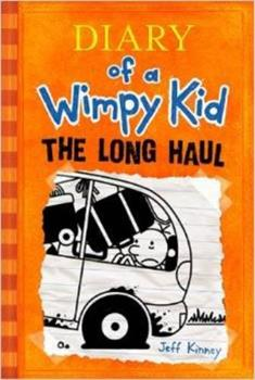 Paperback The Long Haul (Diary of a Wimpy Kid #9) Book