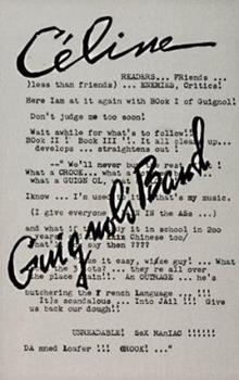 Paperback Guignol's Band: Novel Book