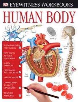 Human Body Workbook [With Stickers] 0756630339 Book Cover