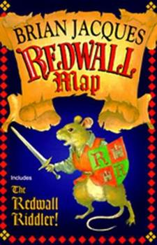 Redwall Map & Riddler 0399232486 Book Cover