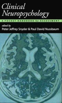 Paperback Clinical Neuropsychology: A Pocket Handbook for Assessment Book