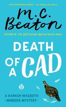 Mass Market Paperback Death of a Cad Book