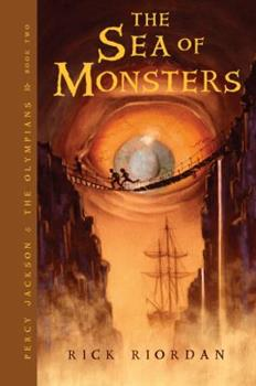 The Sea of Monsters 0545003407 Book Cover
