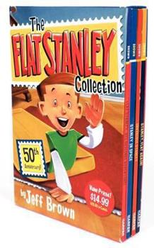 The Flat Stanley Collection Box Set 0061802476 Book Cover