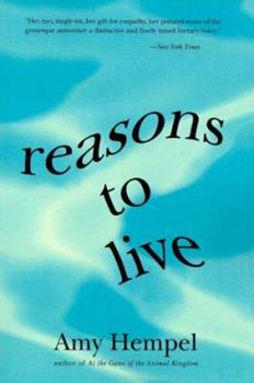 Reasons to Live 0060976721 Book Cover