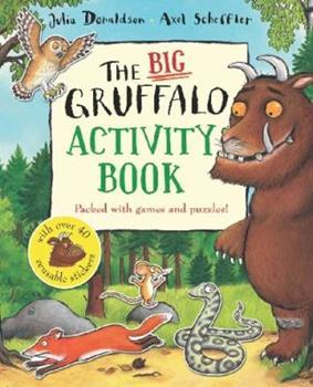 Big Gruffalo Activity Book Pb Spl - Book  of the Gruffalo