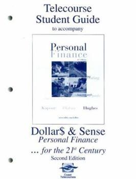 Telecourse Study Guide to accompany Personal Finance 0072442646 Book Cover