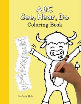 Paperback ABC See, Hear, Do Coloring Book