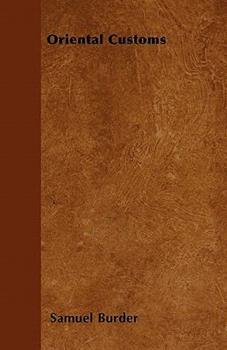 Paperback Oriental Customs Book