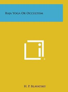 Hardcover Raja Yoga or Occultism Book