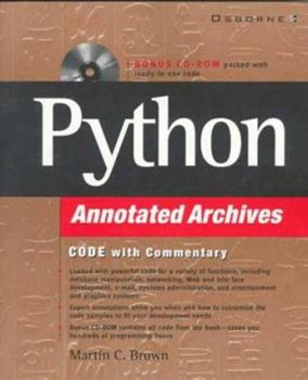 Python Annotated Archives 0072121041 Book Cover
