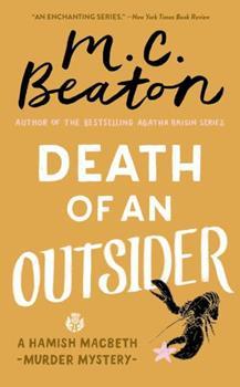 Mass Market Paperback Death of an Outsider Book
