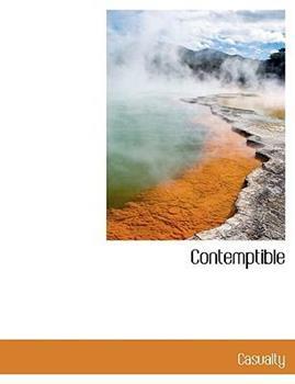 Paperback Contemptible [Large Print] Book