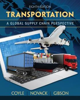 Transportation: A Global Supply Chain Perspective 0314028536 Book Cover