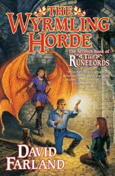 Hardcover The Wyrmling Horde: The Seventh Book of The Runelords Book