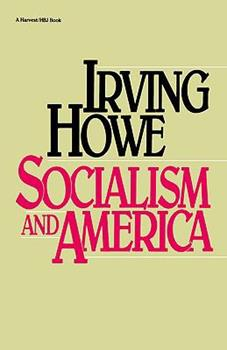 Socialism And America 0151835756 Book Cover