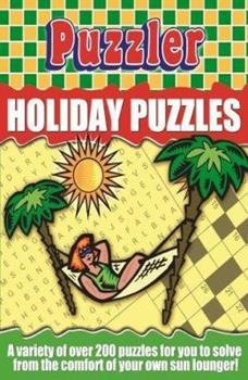 Paperback Puzzler Holiday Puzzles Book