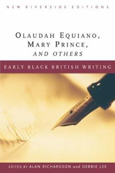 Early Black British Writing (New Riverside Editions) 0618317651 Book Cover