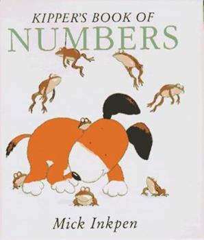 Kipper's Book of Numbers (Kipper) - Book  of the Kipper the Dog