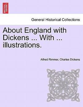 Paperback About England with Dickens with Illustrations Book