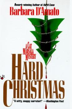 Hard Christmas (A Cat Marsala Mystery) 0684196875 Book Cover