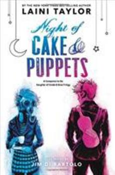 Night of Cake & Puppets 0316439193 Book Cover