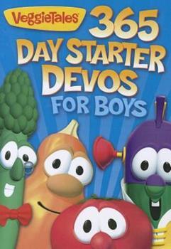 Paperback Veggie Tales 365 Day Starter Devos For Boys Book