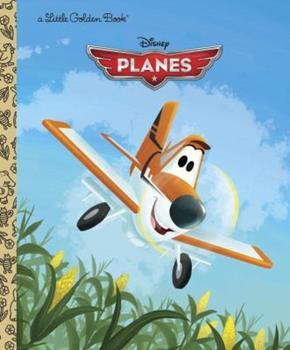 Disney Planes Little Golden Book - Book  of the Little Golden Books