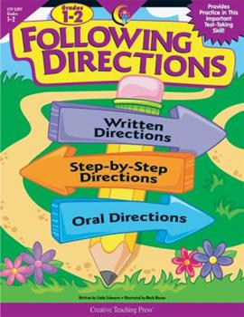 Paperback Following Directions, Gr. 1-2 Book